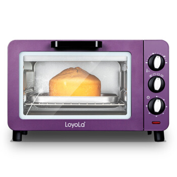 LO-15X Home Multifunction 15L Electric Oven Embedded Fashion Violet Kitchen Baking Tools salter air fryer home high capacity multifunction no smoke chicken wings fries machine intelligent electric fryer