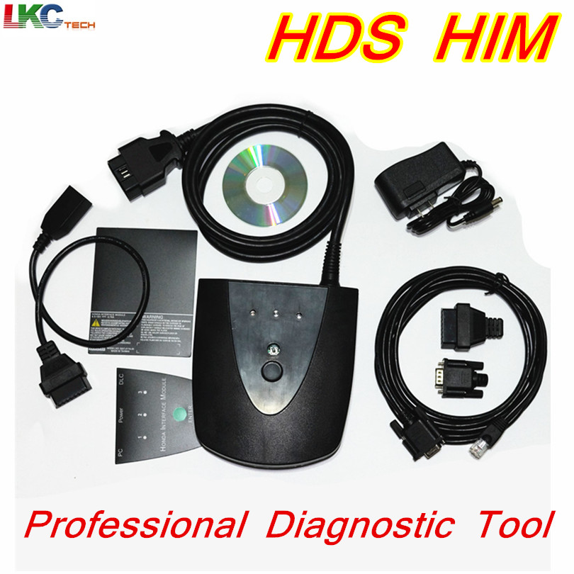 For Ho//n--da HDS HIM Newest V3.101.015 Professional OBD2 Diagnostic Tool for Ho//n--da HDS Scanner HIM HDS Cable