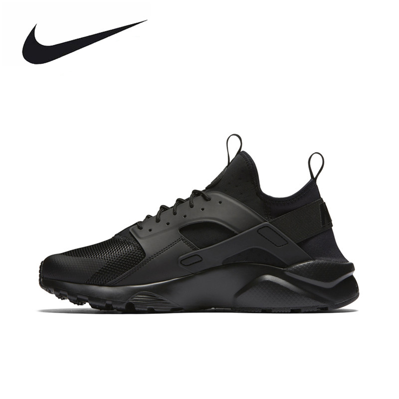 Original New Arrival Official NIKE AIR HUARACHE RUN ULTRA Men's Outdoor Ultra Boost Athletic Running Shoes Sneakers 819685