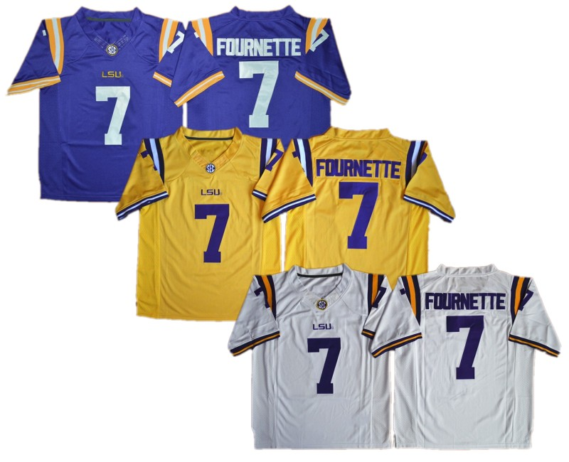 ac21fd0395a Buy white lsu jersey and get free shipping on AliExpress.com