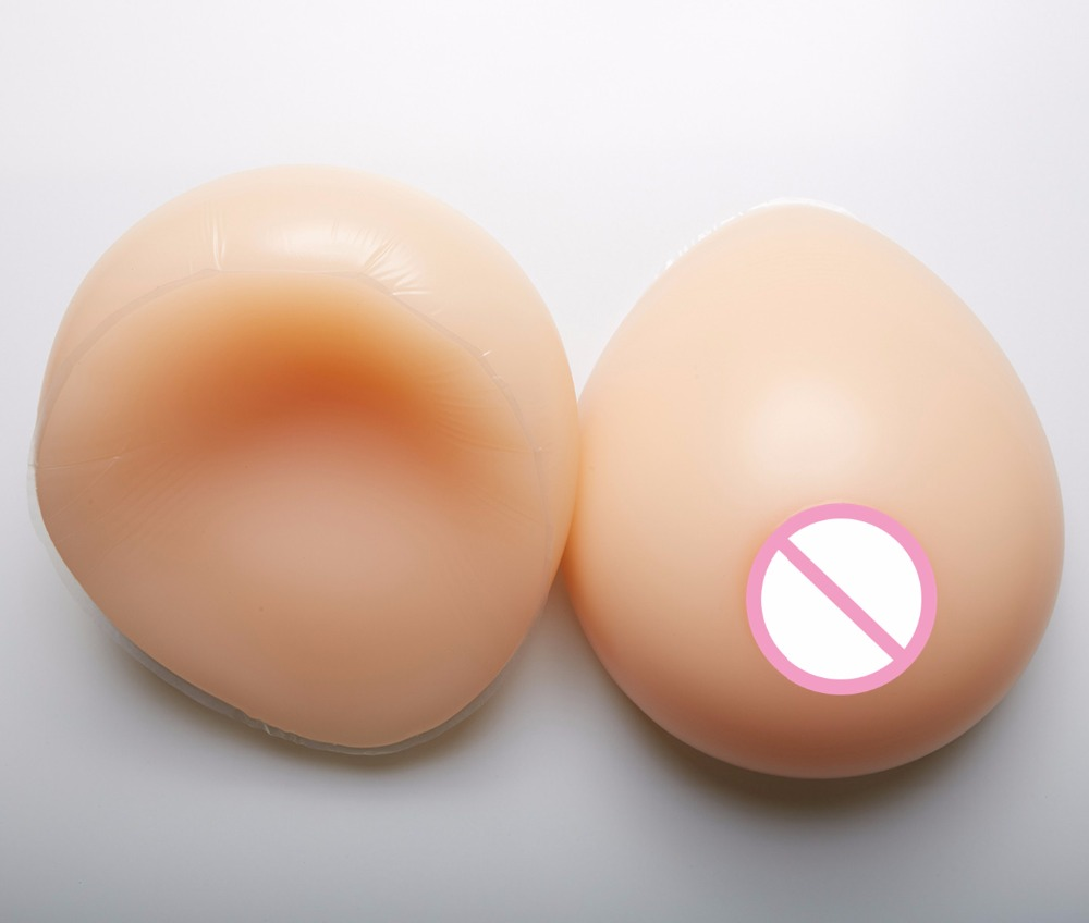 1800g F Cup silicone breast Women Chicken Fillets Silicone Breast Form Fake Breast Form Crossdress