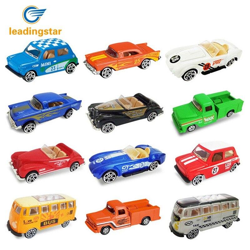 LeadingStar 4pcs/set Diecast 1: 64 Ratio Alloy Model Trek Car Vehicle Toy for Kids Children Boys Xmas Gift