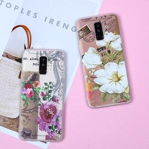 Image 2 - Case For Samsung Galaxy J4 J6 2018 EU Edition A5 2017 J2 J3 J5 J7 A3 A5 A7 2016 A8 A6 Plus 2018 S8 S7 Edge S9 Plus Flower Cases