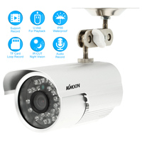 KKMOON CCTV Security Surveillance DV DVR Outdoor Bullet Camera 0 3MP Weatherproof Night Vision Support Audio