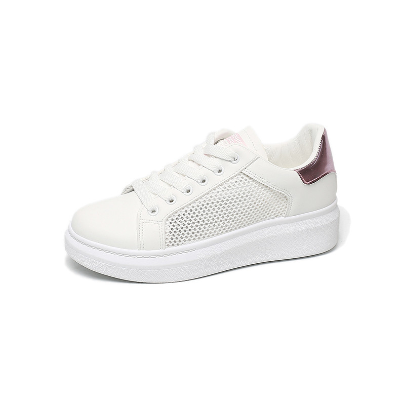2018 spring style Women casual shoes womens swing shoes breathable gauze platform shoes single elevator sneakers shoes