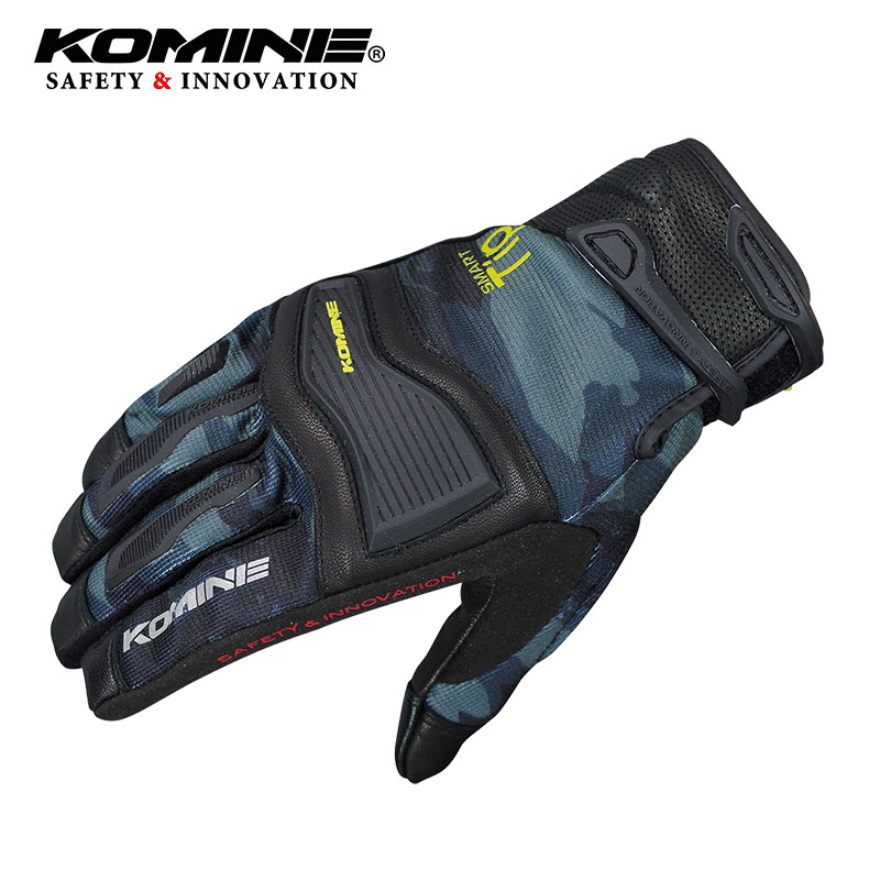 Komine Screen Touch Motorcycle Gloves Luva Motoqueiro Guantes Cycling Motocross gloves Gants High Quality Famous Brand Gloves in Gloves from Automobiles Motorcycles