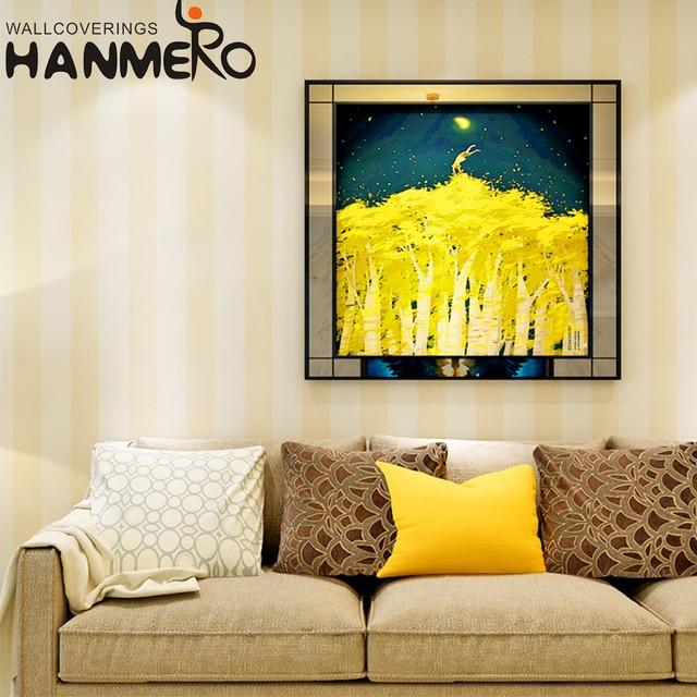 HANMERO Modern Stripe 3D Wallpaper for home walls Living Room ...