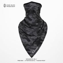 2019 Gamakatsu Fishing scarf ice silk magic headscarf summer sunscreen collar men and women outdoor riding scarf