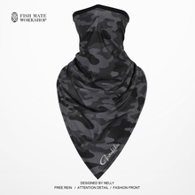 2019 Gamakatsu Pesca ice lenço magia lenço de seda protetor solar verão homens e mulheres de colarinho ao ar livre equitação cachecol