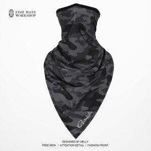 Image 1 - 2019 Gamakatsu écharpe de pêche glace soie foulard magique été crème solaire collier hommes et femmes écharpe déquitation en plein air