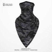2019 Gamakatsu الصيد وشاح الجليد الحرير ماجيك الحجاب الصيف واقية من الشمس طوق الرجال والنساء في الهواء الطلق ركوب وشاح