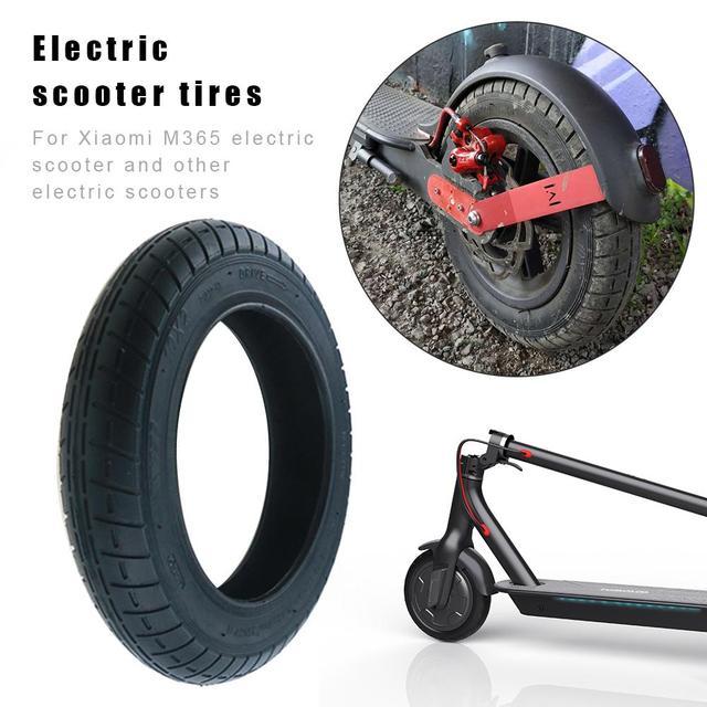 Neumáticos de rueda inflado para Scooter Eléctrico Xiaomi M365 Pro 10  pulgadas neumáticos exteriores goma