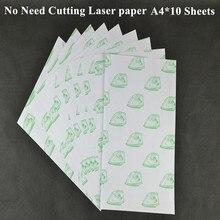 А4*10 шт) лазерный цветной бумажный светильник для печати(8,3*11,7 дюйма) Бумага для самостоятельной прополки для футболок термопереводная бумага Papel