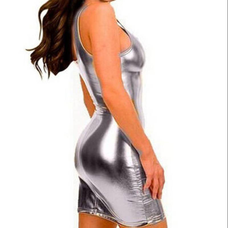 Can not Gold and silver metallic sexy outfits for women everything