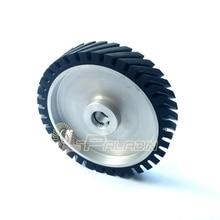 250*50 мм Зубчатые Пояса Шлифовальный Станок Резиновые Колеса Абразивный Шлифовальный Ремень Контакт колеса