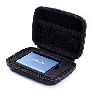 Image 2 - Funda de transporte dura EVA a prueba de golpes para Samsung T5 / T3/T1, SSD portátil de 2019 GB, 250GB, 1TB, 2TB, USB 500, tipo C, novedad de 3,1