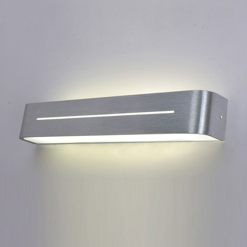 Modern Simple Aluminum Acrylic Tube Bathroom wall light mirror wall light living room wall light bedroom washroom wall lamp luxury modern white acrylic 12w led bathroom wall lamp mirror front fashion wall light showroom washroom wall lamp