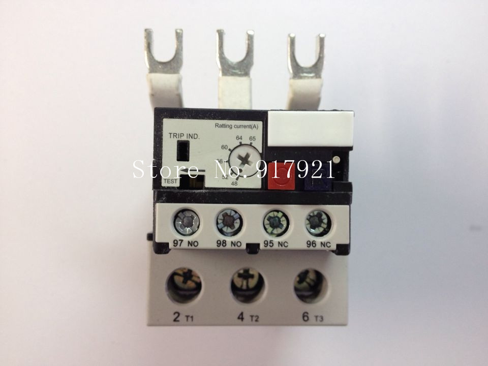 [ZOB] Hagrid imported EWT165D thermal overload relay 48-65A three-phase overload protection  --2pcs/lot thermal overload relay 5 2 8a 7 11a 9 13a th n12kp overload protection