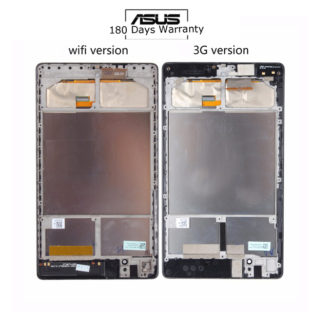 For ASUS Google Nexus 7 II 2nd 2013 ME571KL K009 Nexus7C LTE LCD Display +Touch Screen Digitizer with FRAME