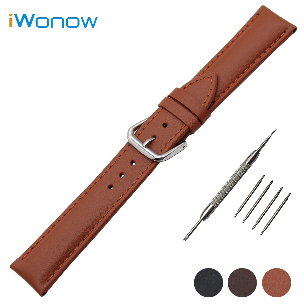 Genuine Leather Watch Band 18mm 20mm 22mm for Timex Weekender Expedition Stainless Buckle Strap Wrist Belt Bracelet + Tool timex часы timex tw4b03500 коллекция expedition
