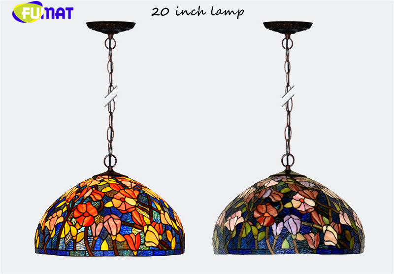 20Tiffany bombax Stained Glass Pendant Lamps