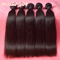 Бразильский виргинский волосы прямые 3 шт./лот Wonder Girl волосы прямые человеческих волос оптом реми волос для черных женщин