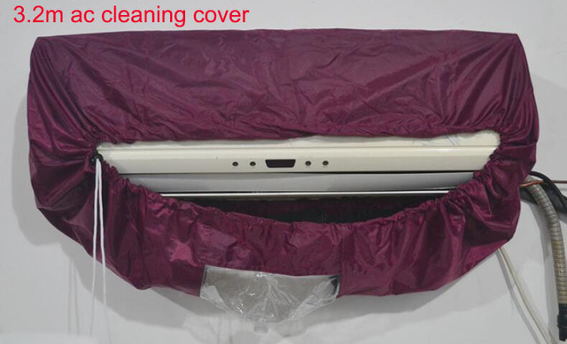 Wholesale Big 3.2m Air conditioner cleaning cover Clean tools Air condition cover 3.2meters air conditioner cleaning cover