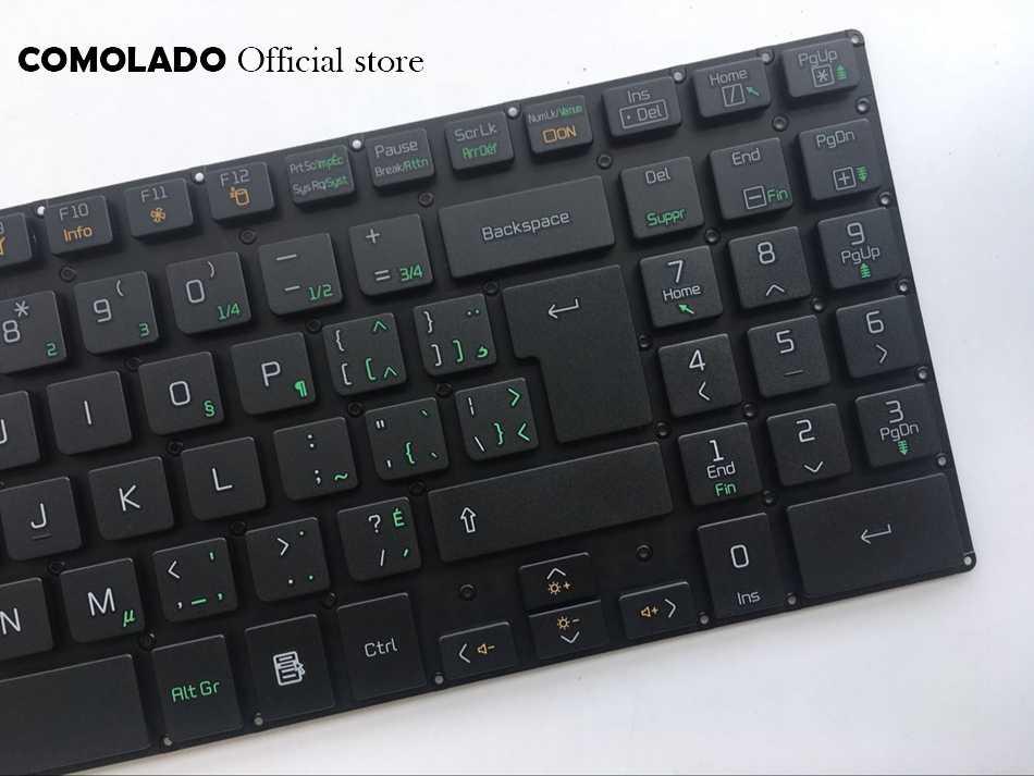 CF Canada-Frans toetsenbord voor LG A530 A530-D A530-T A530-U P530 zonder frame black laptop toetsenbord CF layout