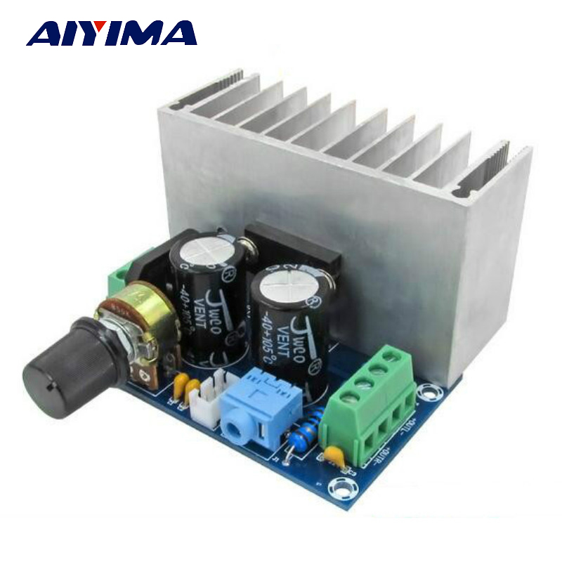 Aiyima TDA1521 Audio Amplifier Board Dual Channel Pure Class A Amplifiers Analog Circuit Board 30W+30W