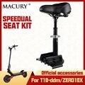 Macury zadel voor speedual T10-ddm zero10x nul 10x elektrische Scooter seat kit officiële accessoire onderdelen hoogte verstelbare stoel