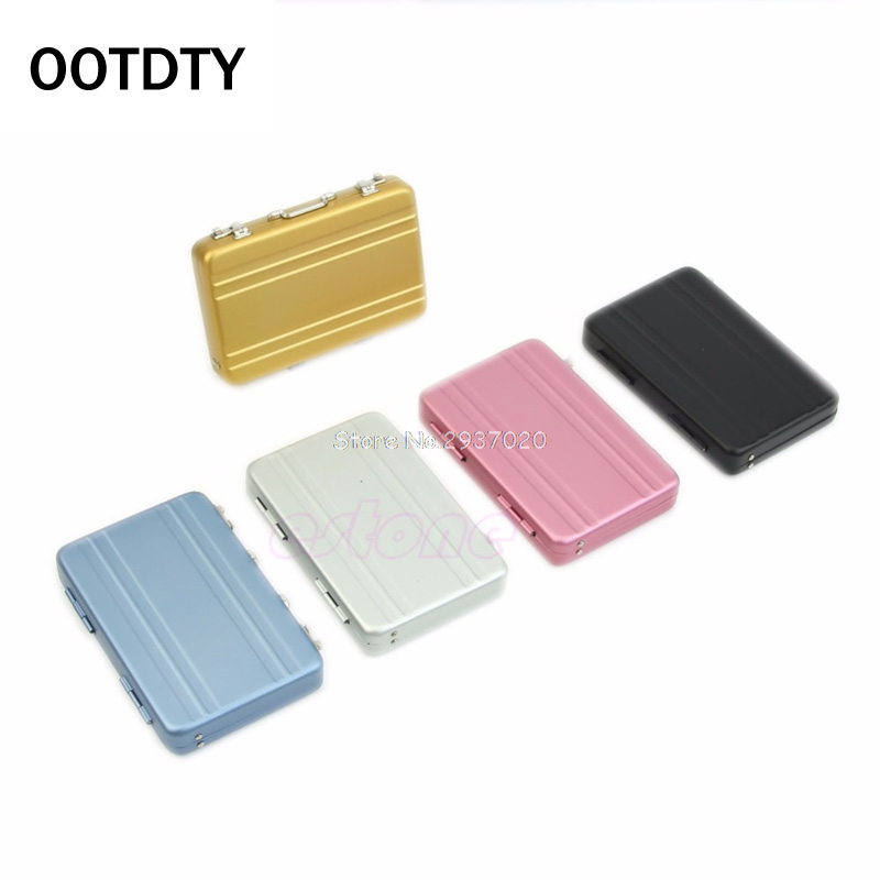 MINI Cute Password Briefcase Business Cardcase Bank Card Case Card Holder D14
