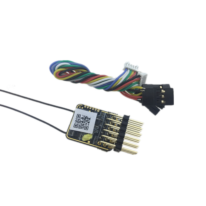 Image 4 - New arrival FrSky RX6R 6/16 telemetry Receiver designed for gliders ultra small and super light 6 pwm output-in Parts & Accessories from Toys & Hobbies