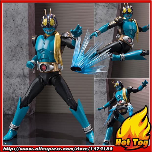 100% Original BANDAI Tamashii Nations S.H.Figuarts (SHF) Action Figure - MASKED RIDER 3 from Masked Rider