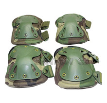 High Qualty Military Tactical paintbal Field Elbow & Knee Pads Knee Pads & Elbow Pads Protection Set Airsoft Hunting Equipment