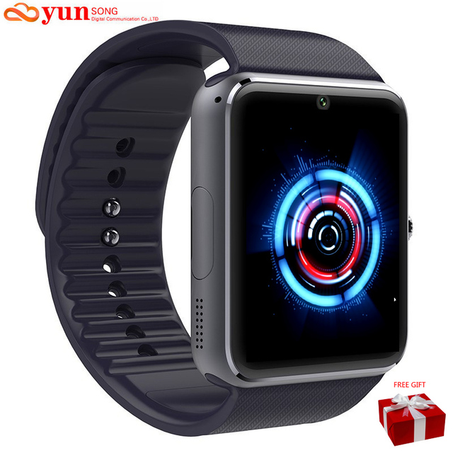bluetooth smart watch wristwatch gt08 for apple iphone ios android phone wear support sync smart clock