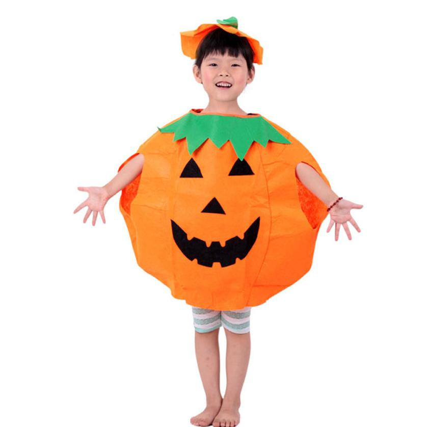 Free Shipping Party Supplies Pumpkin Halloween Costume For Kids Children Cosplay Costumes Amazing