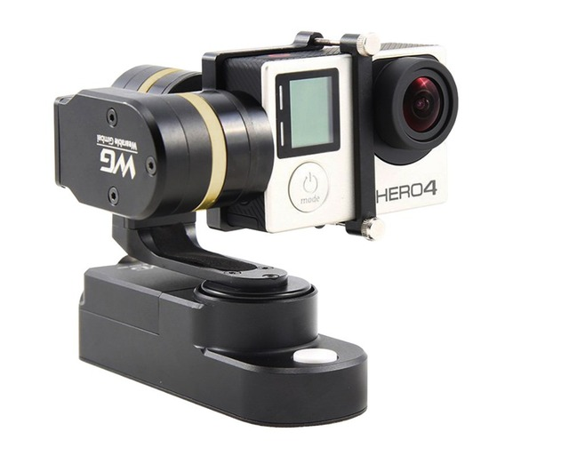 F15627 Feiyu FY WG 3 axle Wearable Gimbal Brushless Steady Stabilizer for Gopro Hero 3 3+ 4 LCD Extend Xiaoyi Sj4000 AEE Camera