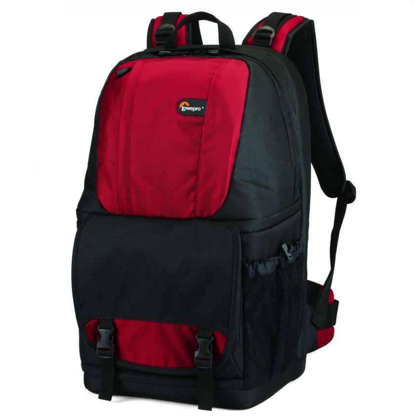 """Atacado Genuine Lowepro Fastpack 350 Foto DSLR Camera Bag Digital SLR Backpack laptop 15.4 """"com All Weather Cover"""