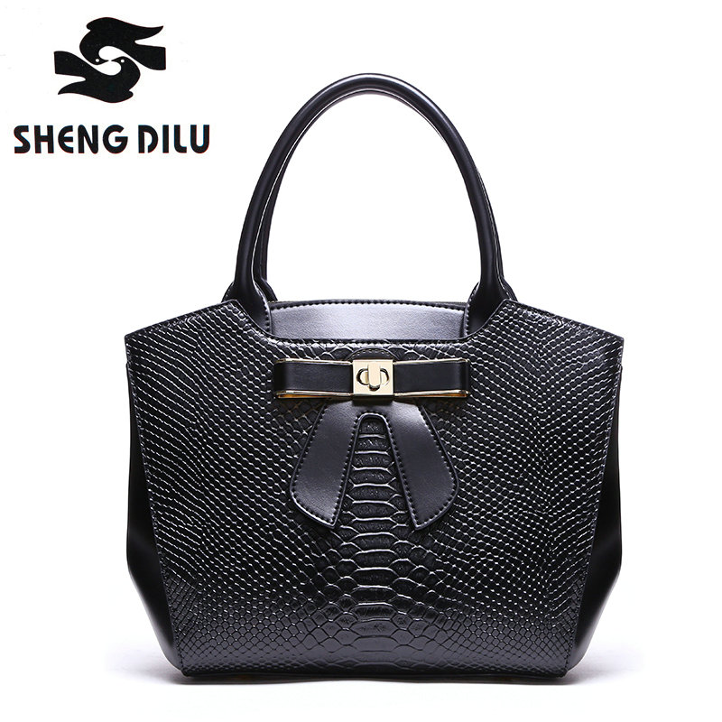 Genuine Leather 2017 Handbags Women Famous Brands Luxury Designer Handbag High Quality Crocodile Leather Tote Hand Bag Ladies new design women leather handbag genuine leather bag handbag sheepskin women famous brands designer high quality top handler bag