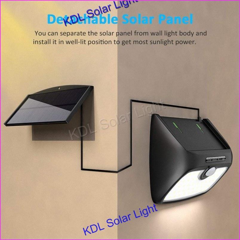 Außenbeleuchtung Solarlampen 48 Leds Dual Kopf Solar Licht Radar Sensor Scheinwerfer Wasserdichte Outdoor Solar Garten Licht Super Hellen Hof Flut Led Lampe