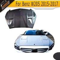 carbon fiber front Engine Bonnets Hood Cover for Mercedes Benz W205 2015UP
