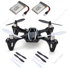 Free Shipping! Upgraded Hubsan X4 V2 H107L RC Drone Quadcopter Helicopter+Free Battery+Blades