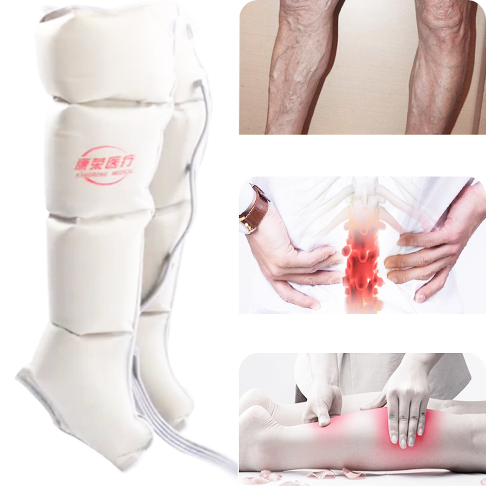 Air Pressure Massaging Machine Whole Body Massager Release Edema Varicosity Myophagism Body With Free Arm and Leg Sleeve in Massage Relaxation from Beauty Health