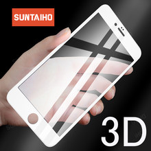 Suntaiho 3D Soft Edge Tempered Glass for iPhone 6 6S Plus 7 8 for iPhone XS Max XR Screen Protector Phone Protective Glass film(China)