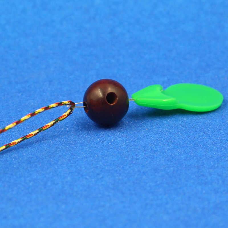 Herramienta de perforación de cuentas en forma de calabaza de plástico, dispositivo de tres vías para cabeza de mano