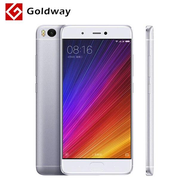 """Оригинал Xiaomi Mi 5S Премьер Mi5s 4 ГБ RAM 128 ГБ ROM Мобильный Телефон Snapdragon 821 Quad Core 5.15 """"FHD Ультразвуковой Сканер Отпечатков Пальцев"""