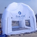 2016 New Style Gemmy white  Square Inflatable Tent with dome roof for Party,event,advertisements