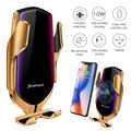 FDGAO 10W Automatische Snel Opladen Qi Draadloze Autolader Voor iPhone 11 XS X XR 8 Samsung S10 S9 air Vent Mount Auto Telefoon Houder