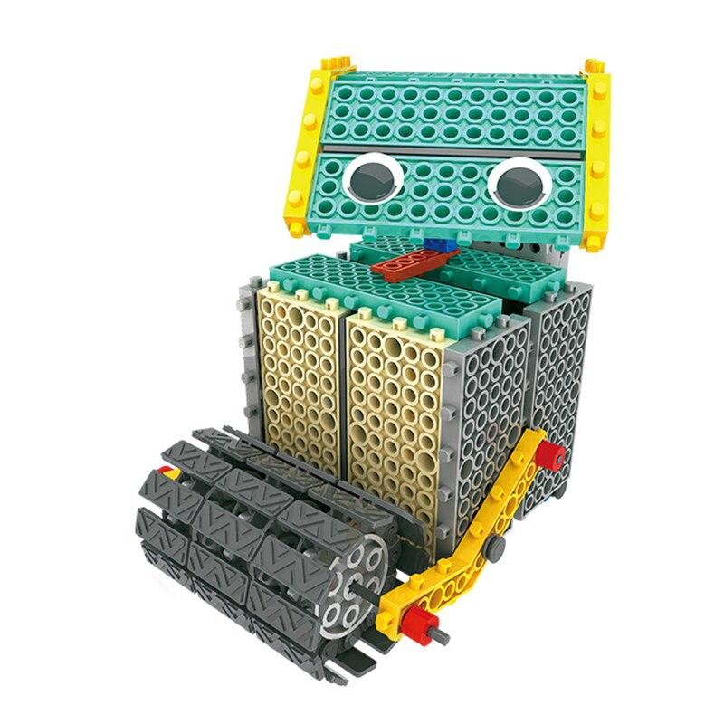 Tige bricolage Mars Robot bloc de construction électronique Science éducative jouets Kit apprentissage éducation jouets pour enfants cadeau - 2