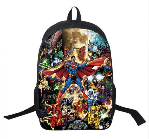 2016 Bolsas para niños Bolsas de libros para estudiantes Machila para niños Mochila de cuero Mochila linda con marca Olaf Shippping gratis sac a dos avengers